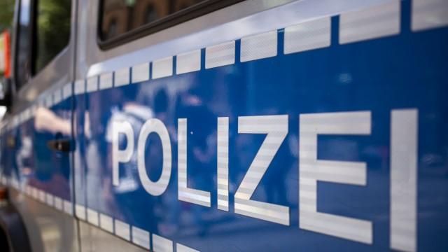 Polizei bei einer Demonstration in Hamburg