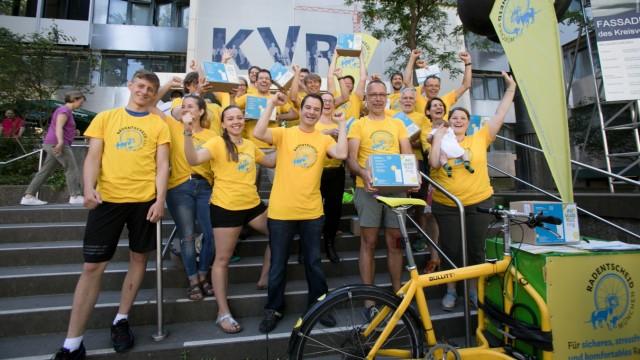 Das Bündnis Radentscheid München darf sich über die Unterstützung von OB Reiter freuen.