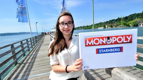 Starnberg: Katharina Pillmann 'Pressesprecherin' vom P-Seminar 'Monopoly Starnberg'