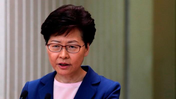 Honkongs Regierungschefin Carrie Lam