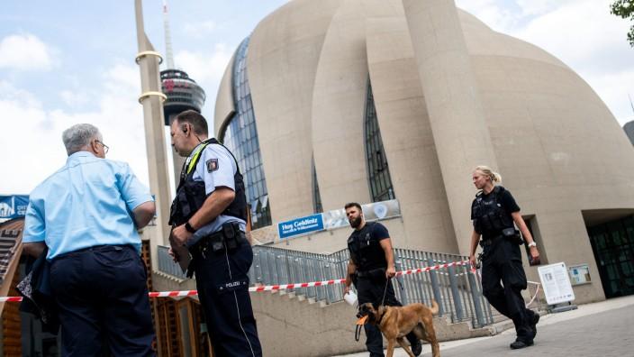 Drohung gegen Kölner Zentralmoschee