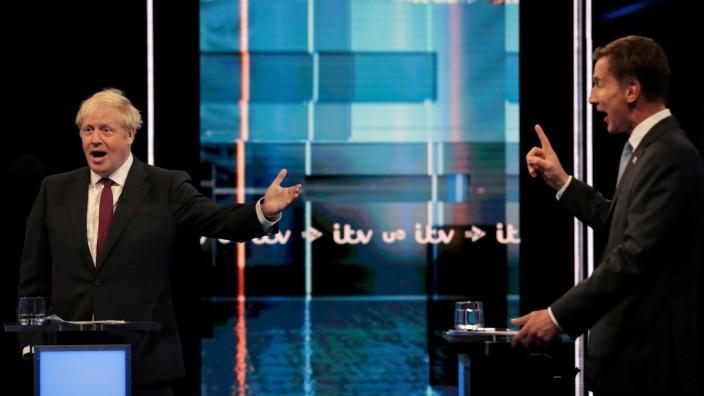 Boris Johnson und Jeremy Hunt