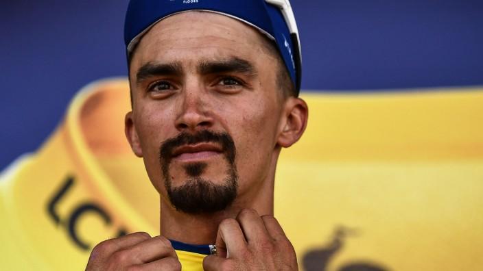 Tour de France - Julian Alaphilippe im Gelben Trikot 2019