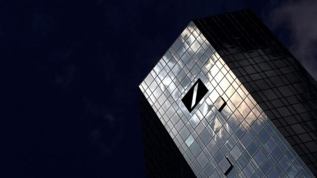 Deutsche Bank - Hauptsitz in Frankfurt