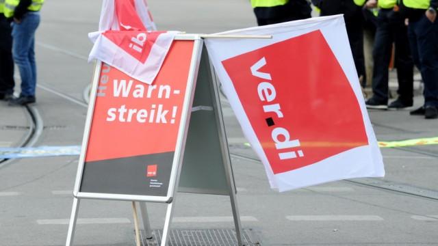 MVG München Warnstreik im Öffentlichen Nahverkehr 2019