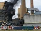 Brand in ehemaligem Kraftwerk: Löscharbeiten nicht möglich (Vorschaubild)