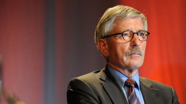 Thilo Sarrazin bei Lesung in München, 2010