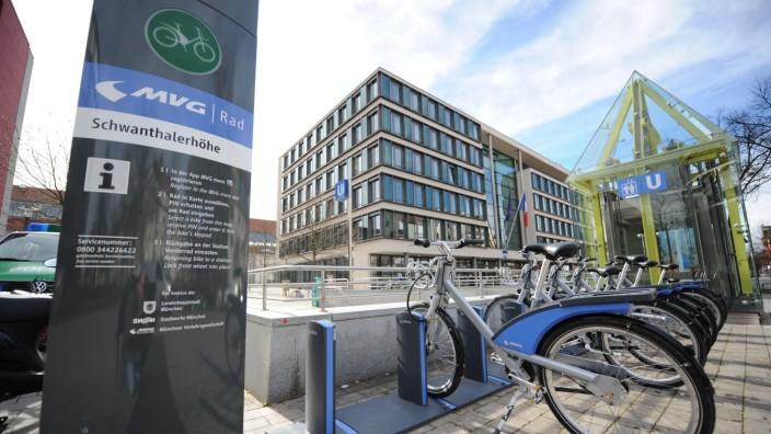 MVG-Mietfahrräder in München, 2016