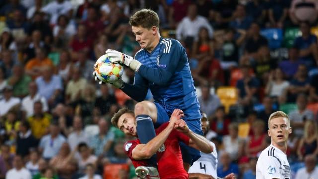 Sport Bilder des Tages SOCCER U21 U 21 EURO 2019 AUT vs GER UDINE ITALY 23 JUN 19 SOCCER OE