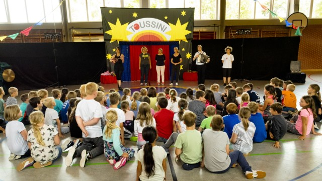 Zirkusprojekt Grundschule Steinhöring
