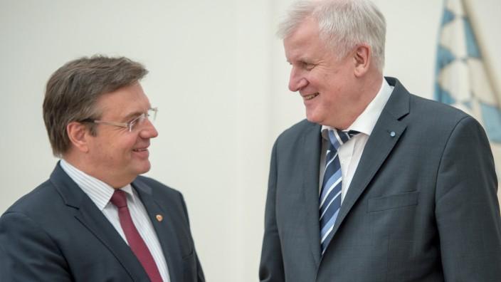 Horst Seehofer empfängt Landeshauptmann von Tirol