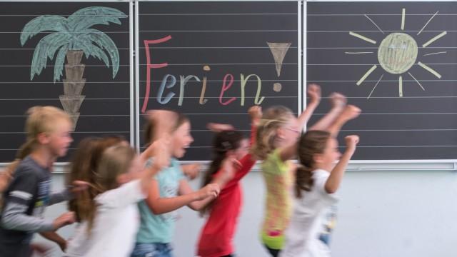 Schüler in Bayern starten in die Sommerferien