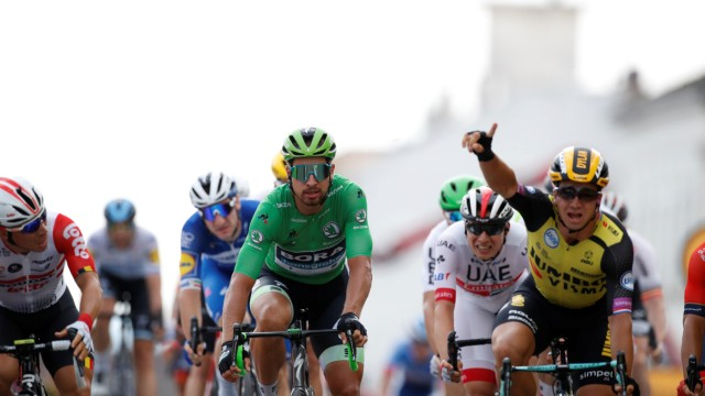 Tour de France - The 230-km Stage 7 from Belfort to Chalon-sur-Saone