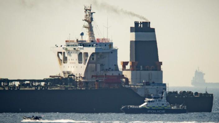 Gibraltar stoppt Supertanker