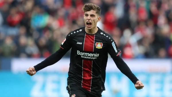 05 05 2019 Fussball Saison 2018 2019 Bundesliga 32 Spieltag Bayer Leverkusen Eintracht Fran; Kai Havertz