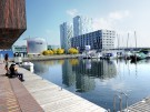 Modern architecture in Almere_New Land_copyrights Monavid-Mona Alikhah      Phot