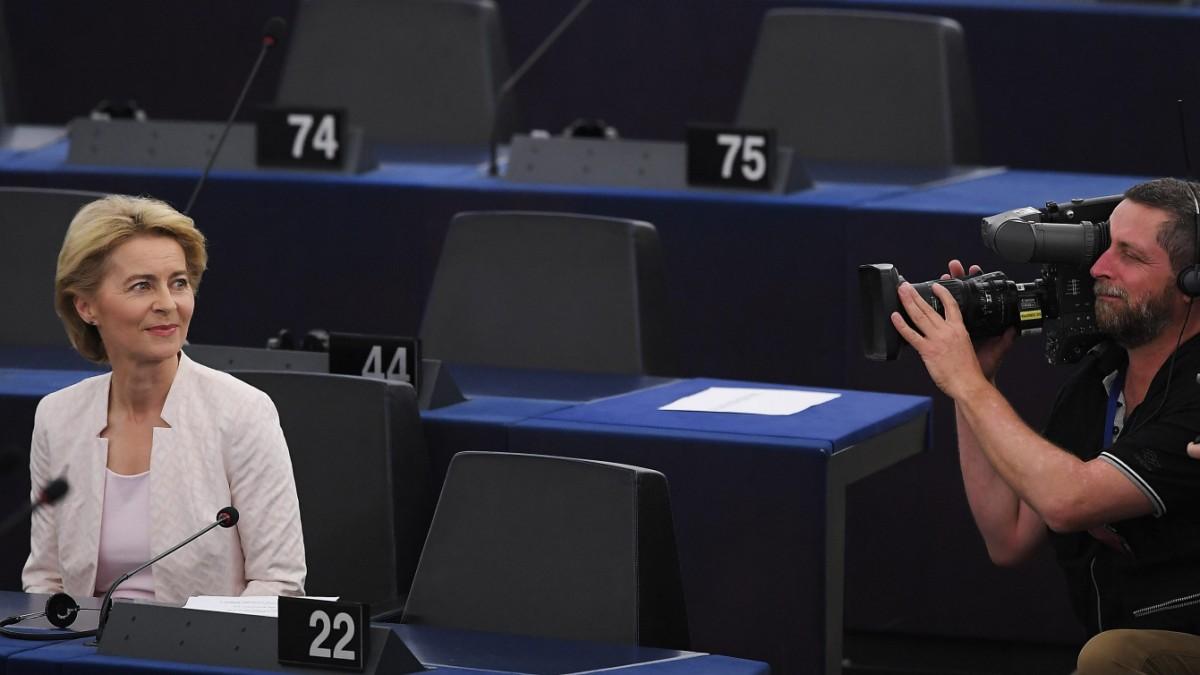 """""""Wer Europa schwächen will, findet in mir eine erbitterte Gegnerin"""""""