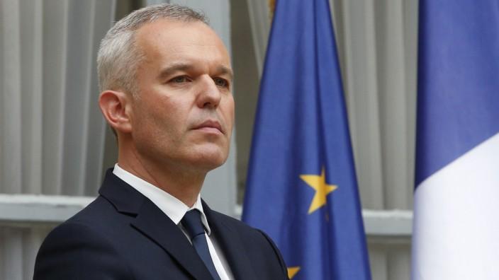 Francois de Rugy, Umweltminister Frankreich