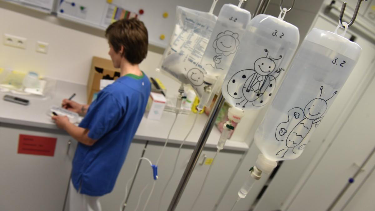2100 Pflegekräfte zu wenig