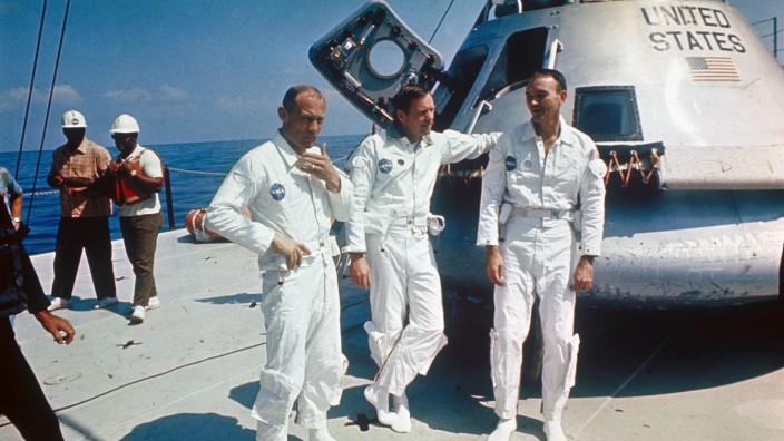 The Apollo 11 astronauts, 1969.