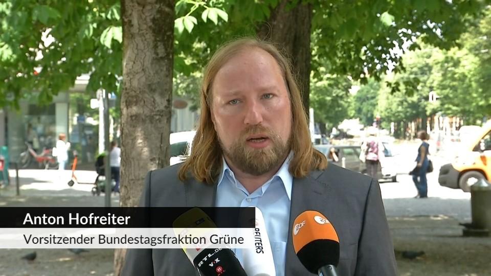 Neue Verteidigungsministerin Hofreiter Kramp Karrenbauer Eine