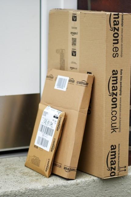 Päckchen von Amazon