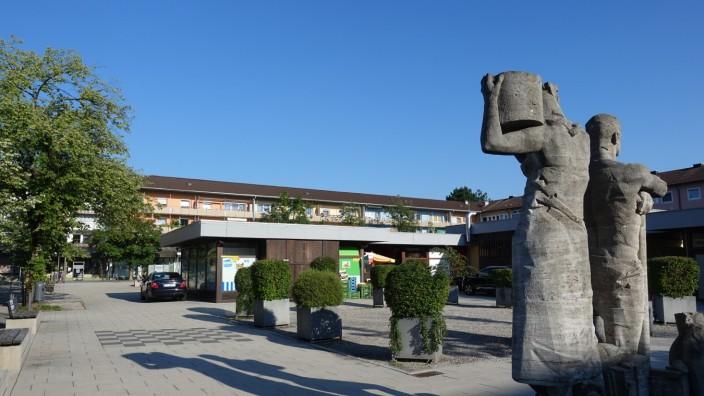Neuer Platz Geretsried, Areal für neuen Bouleplatz