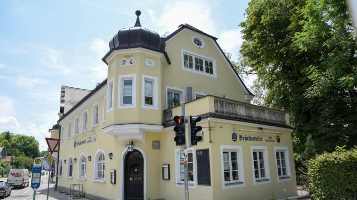Brückenwirt Loisach Wolfratshausen Gasthaus