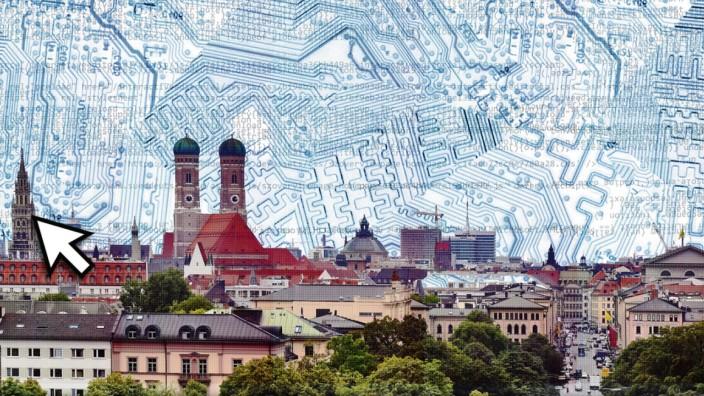 Die Mieten in München sind laut Berechnungen des Immobilienverbandes erstmals seit langem weniger stark gestiegen.