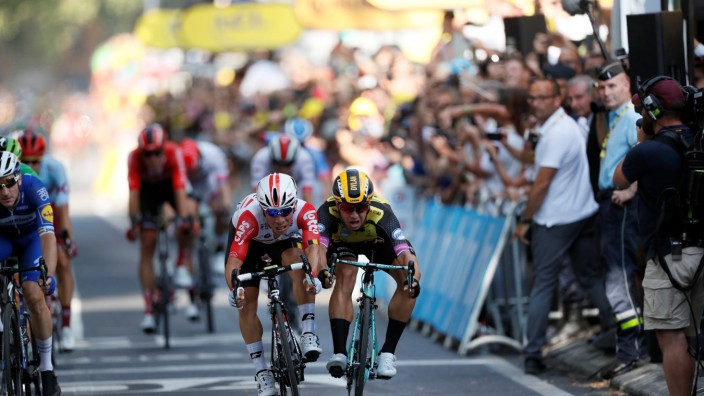 Tour de France - The 167-km Stage 11 from Albi to Toulouse