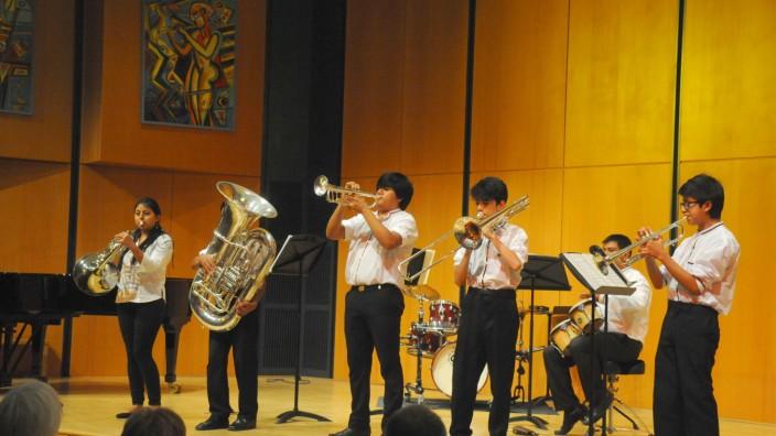 Ecuador Brass Band gastiert in der KMS Erding