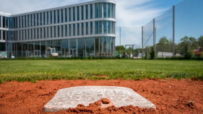 Baseballplatz in Haar bei München, 2018