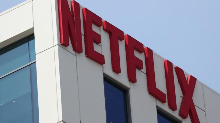 Das Netflix-Hauptquartier in Los Angeles.