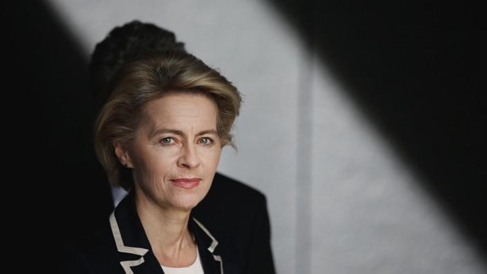 File photo of German Defence Minister von der Leyen