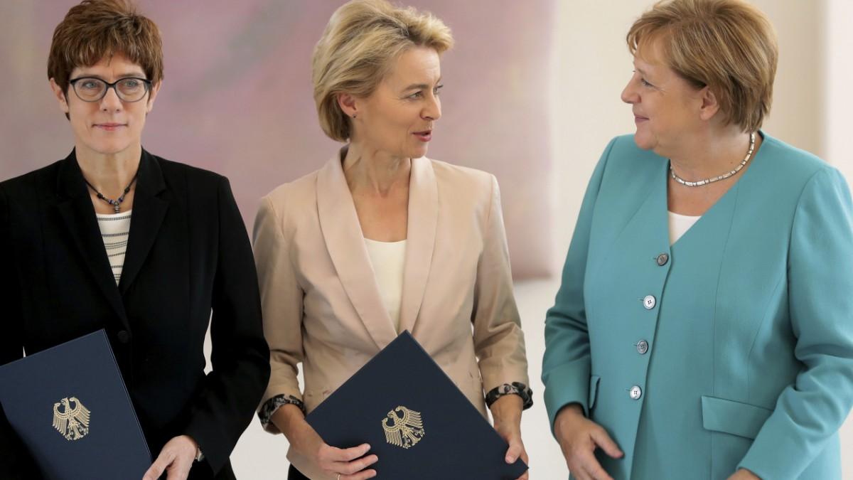 Endlich Frauen an der Macht?