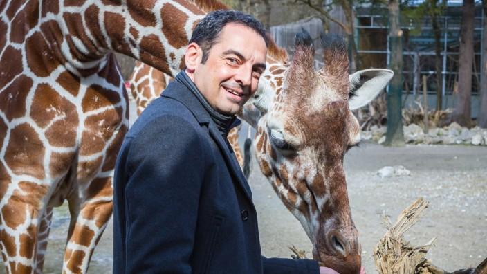 Rasem Baban bei der PK im Muenchner Tierpark Hellabrunn Vorstellung des Masterplans zur zukuenftigen Umgestaltung des