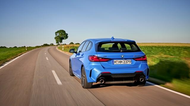Fahrbericht Bmw 1er Ziehen Statt Schieben Auto Mobil