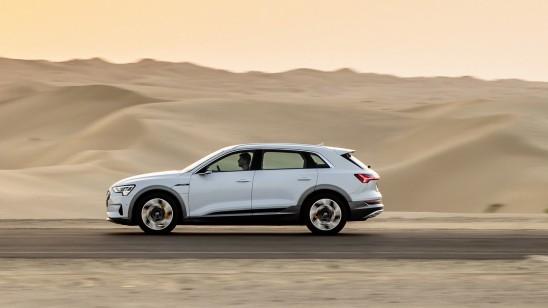 Mit dem Elektro-Audi in der Ladewüste