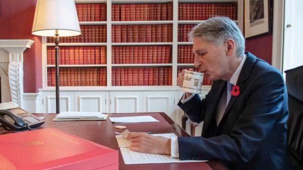 Großbritannien - Der britische Schatzkanzler Philip Hammond