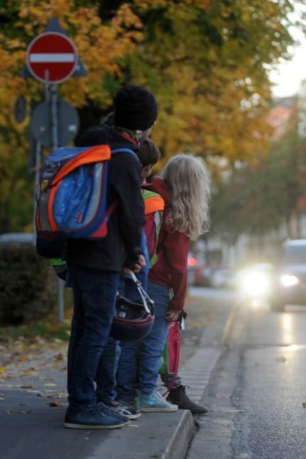 Schulkinder in München, 2017