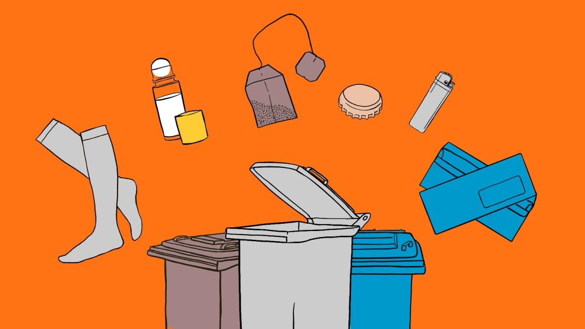 So wird Müll richtig getrennt