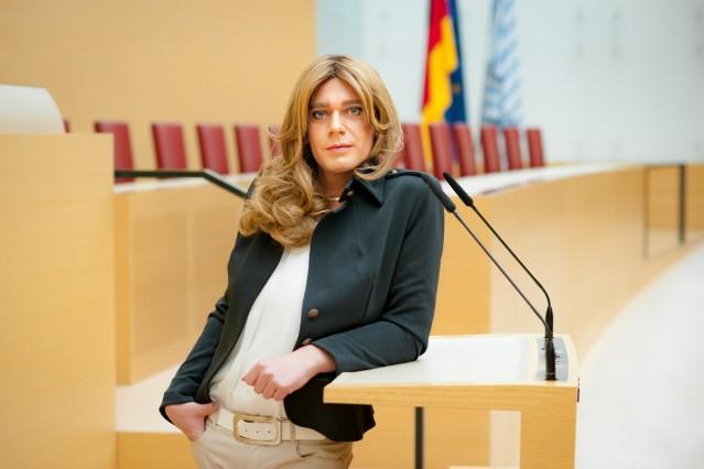 Tessa Ganserer im Bayerischen Landtag, 2019