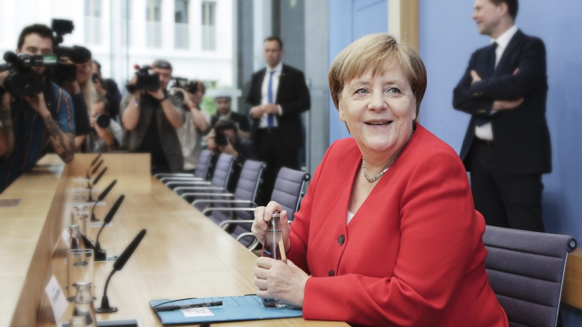 Merkels Pressekonferenz, Rackete verlässt Italien, Kirchenaustritte