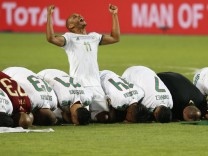 Finale des Afrika Cups: Bogenlampe ins Glück