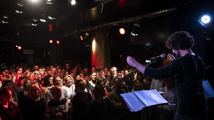 """Offener Popchor """"Go Sing Choir"""" in München, 2019"""