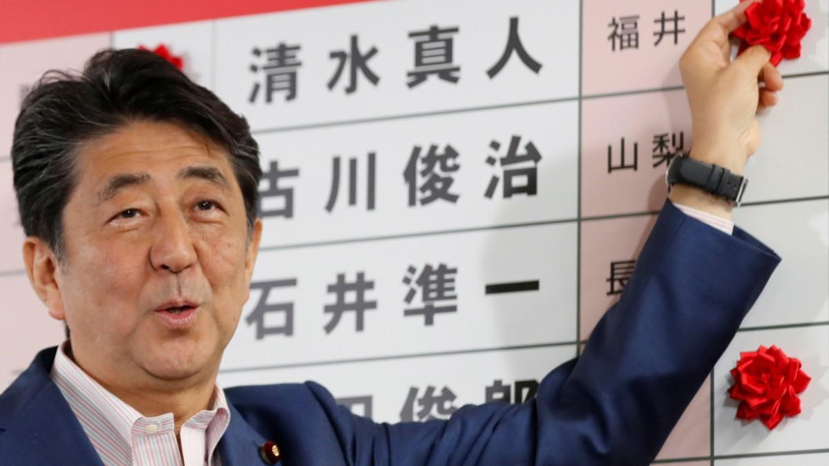 Abes Block behält wohl Mehrheit
