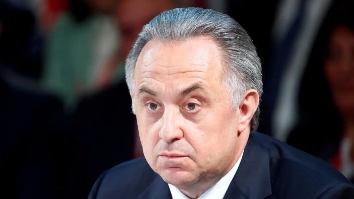 FILE PHOTO: Russian Deputy Prime Minister Mutko attends the St. Petersburg International Economic Forum