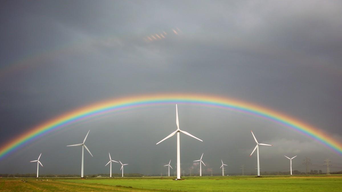 Windrad-Stau bedroht Energiewende