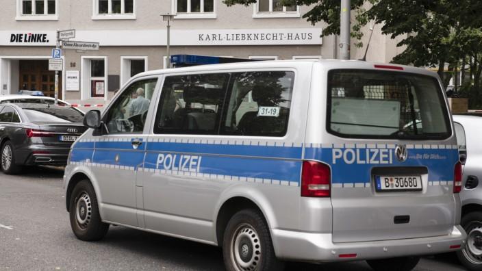 Karl-Liebknecht-Haus wegen Bobmendrohung geräumt