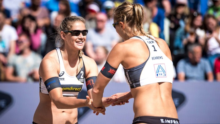 FIVB Beach volleyball Beachvolleyball World Championships Hamburg 2019 03 07 2019 Kim Behrens Ci; Behrens